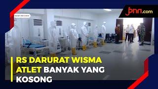 Jokowi: Kapasitas Rumah Sakit Wisma Atlet Masih Banyak Yang Kosong - JPNN.com