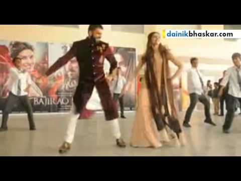 Ranveer & Deepika Launch Song 'Aayat' In Lucknow | Bajirao Mastani