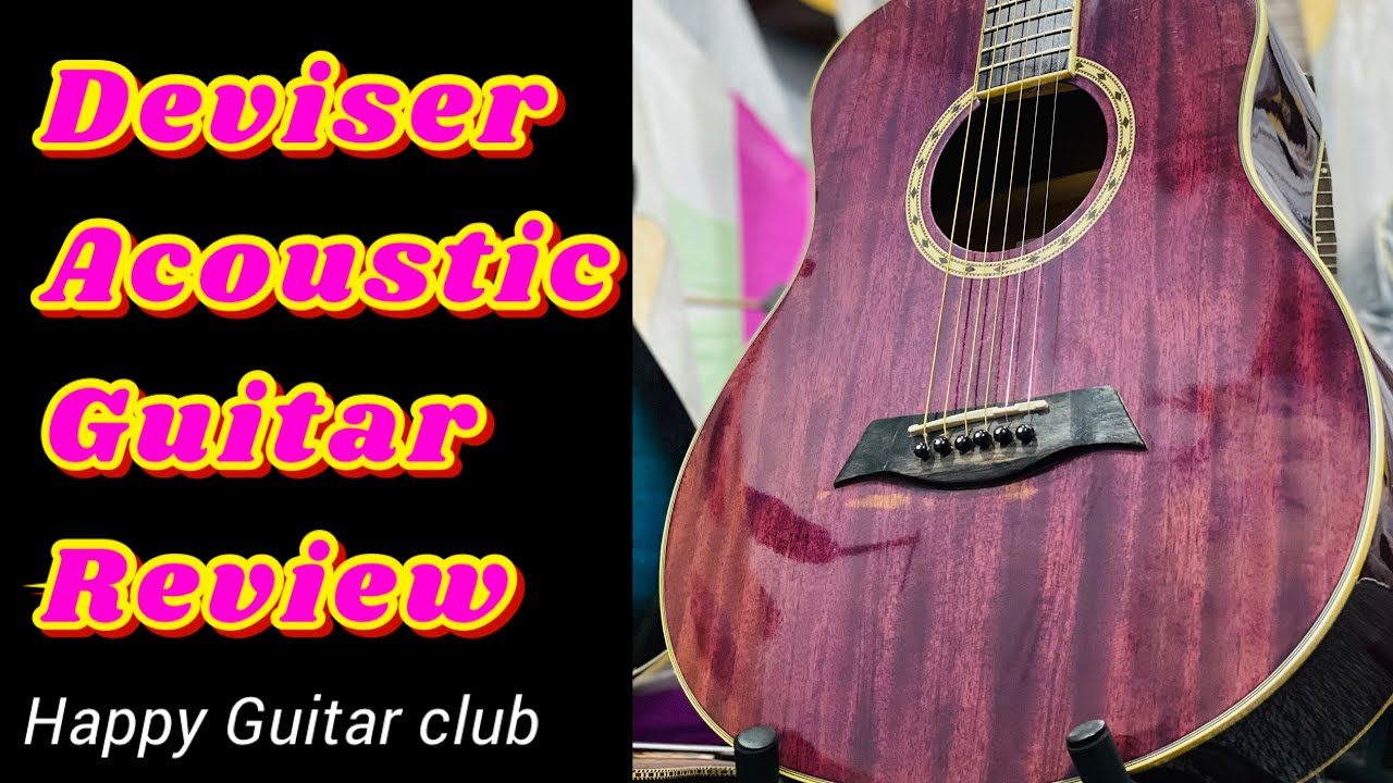 Deviser Acoustic Guitar | sound Test Review | Happy guitar club | Online Guitar Store | happy single