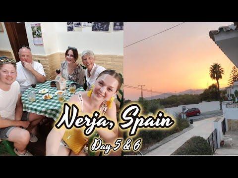 NERJA, SPAIN TRAVEL DIARY   DAY 5 & 6