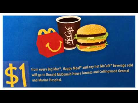 Join 97.7 the Beach at McDonald's Collingwood and Wasaga Beach on Wednesday May 7 for McHappy Day!