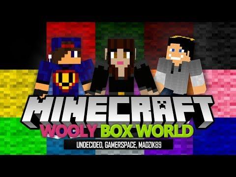 Minecraft Parkour: Wooly Box World - Madzia #Kracze i Skacze [1/3] w/ Madzia, GamerSpace