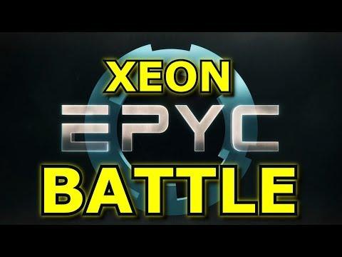 Intel's Epyc Battle, AMD heads to the Moon