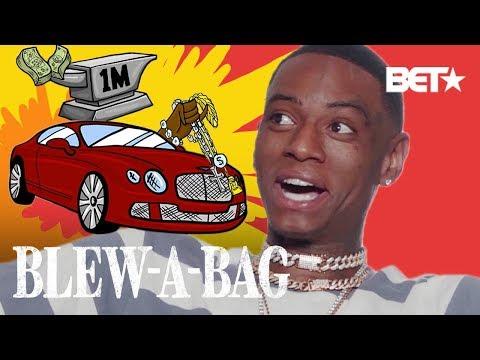 How Soulja Boy Spends One Million Dollars | Blew A Bag thumbnail