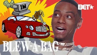 How Soulja Boy Spends One Million Dollars | Blew A Bag