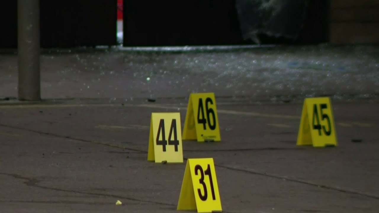 3 shot outside gas station in SW Detroit