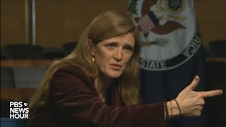 Samantha Power on the global challenge of fighting fake news