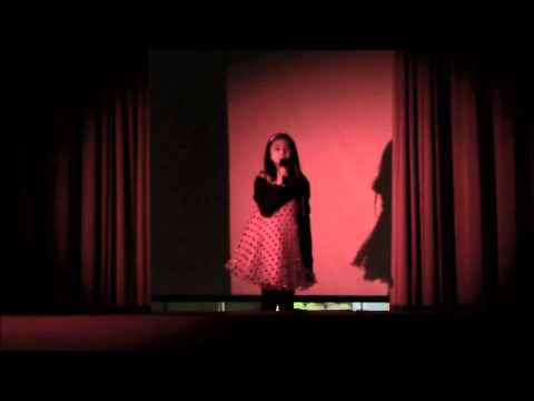 My Song For You - Bridgit Mendler Ft. Shane Harper (Live Performance By Caitlin Diaz)