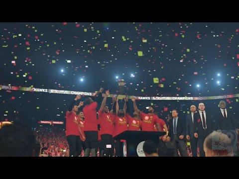 NBA 2K17 - Atlanta Hawks Championship Celebration