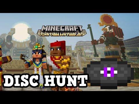 Minecraft Xbox TU65 Egyptian Mashup - HARDEST DISC HUNT!