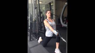 Cable Split Squat - Personal Training Nottingham