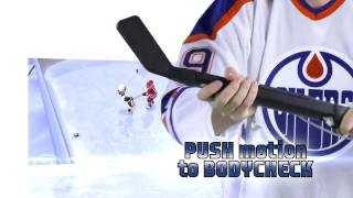 NHL Slapshot featuring Wayne Gretzky - Wii - Control Stick Tutorial video game preview trailer HD