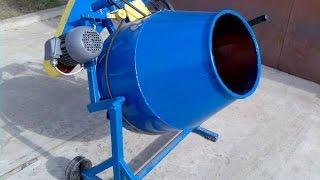 бетономешалка (Бетоносмеситель) своими руками ( homemade concrete mixer )