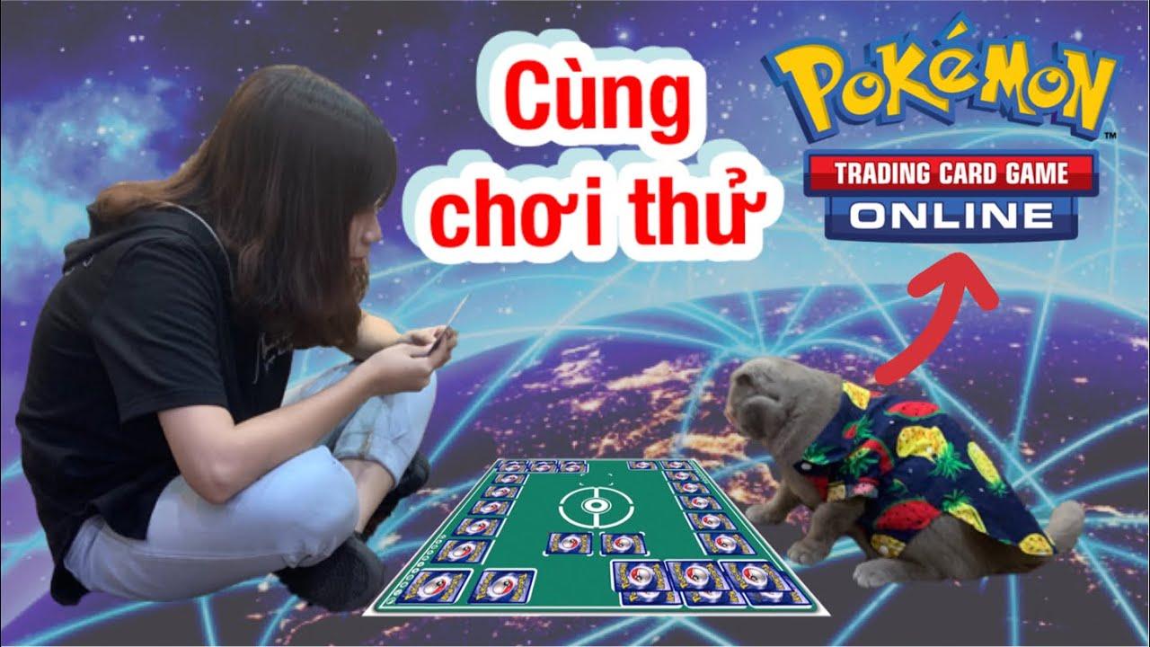 Cùng nShop chơi thử bài Pokemon Trading Card Game Online xem cái hay của bài TCG xin nhé!!!