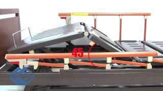 Медицинская кровать E 31 бук(Очень комфортная функциональная механическая кровать E-31(wood), состоящая из четырех секций, имеющая винтовой..., 2015-11-24T19:45:39.000Z)