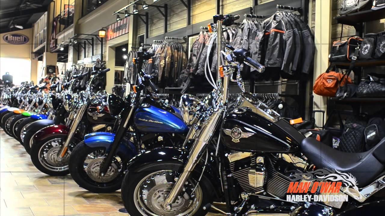 Black Friday 2014 at Man O' War Harley-Davidson! - YouTube