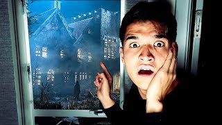 Found A Haunted House IN MY BACKYARD?!? (not clickbait)