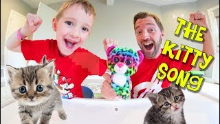 """Father & Son Sing THE KITTY SONG! / """"There's Kittens Everywhere!"""" thumbnail"""