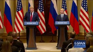 Word for Word: President Trump on Russia and 2016 Campaign (C-SPAN)