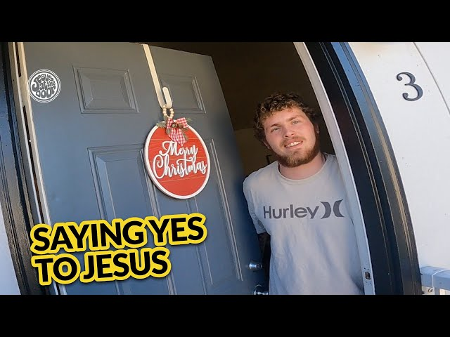 Street Encounters - Saying yes to Jesus