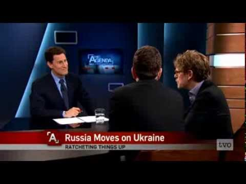 Stavros Rougas on The Agenda: Russia Moves on Ukraine