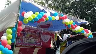 GJ college kurupam fresher's day dance