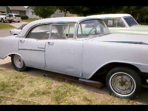 1956 chevy bel air 4 door hardtop for sale youtube for 1956 chevy 4 door