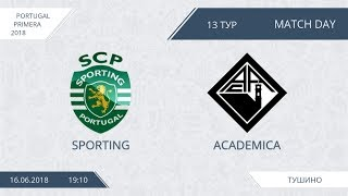 AFL18. Portugal. Primera. Day 13. Sporting - Academica