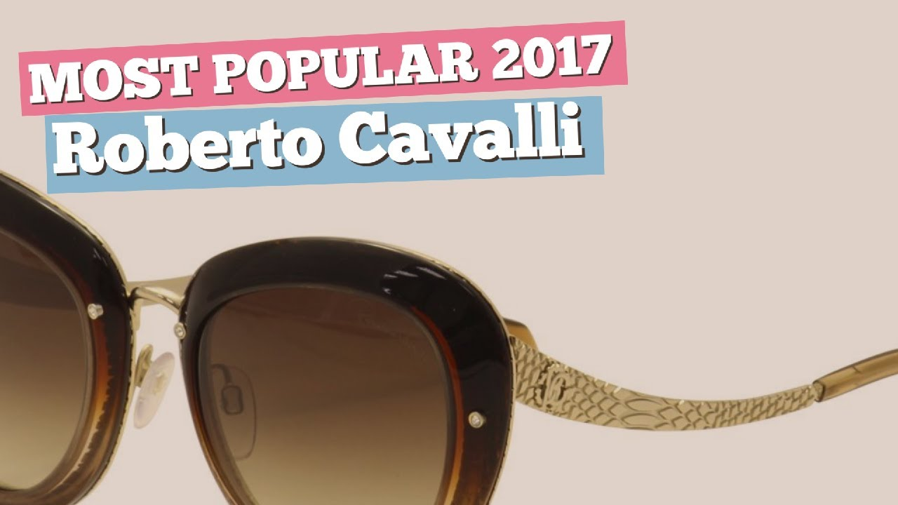 4f1c634965 Roberto Cavalli Sunglasses Collection    Most Popular 2017 - YouTube