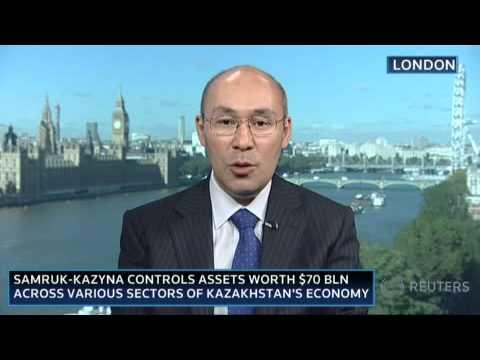 Kairat Kelimbetov gives Reuters Interview during KBF2010