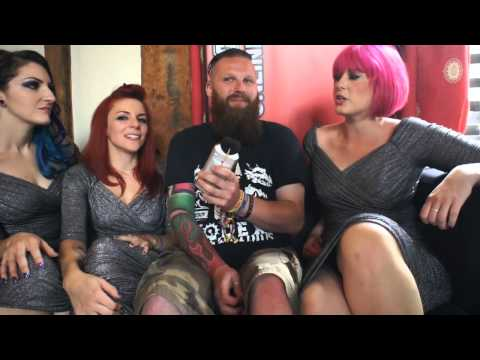 The Lounge Kittens Interview Sonisphere Festival 2014