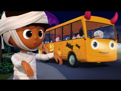 Wheels On The Bus HALLOWEEN Special! | Little Baby Bum: Nursery Rhymes \u0026 Kids Songs | ABCs And 123s