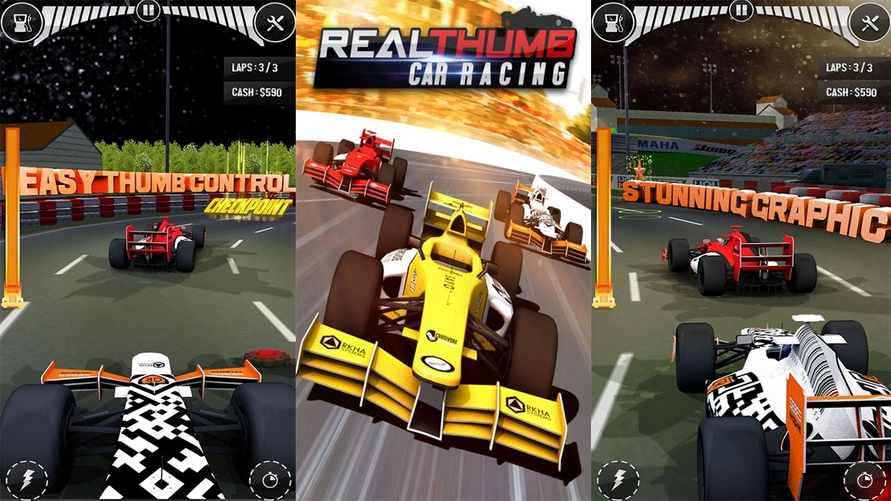 3d car real thumb racing 2017 best androidios game for kids march 2017