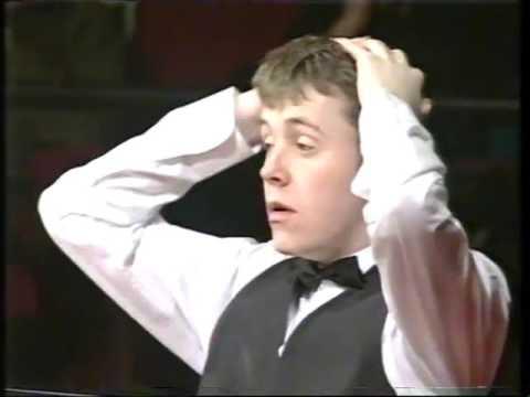 B&H Masters 1995 Final Ronnie O'Sullivan Vs John Higgins Part 2