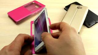 видео Чехлы для Huawei Y5 II