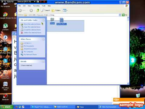 How to delete viruses without any antivirus or any program [Win XP]