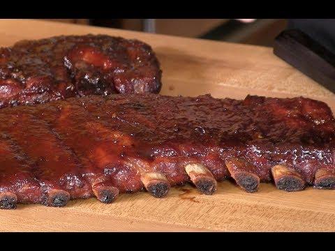 Brown Sugar Applewood BBQ Spare Ribs Recipe!