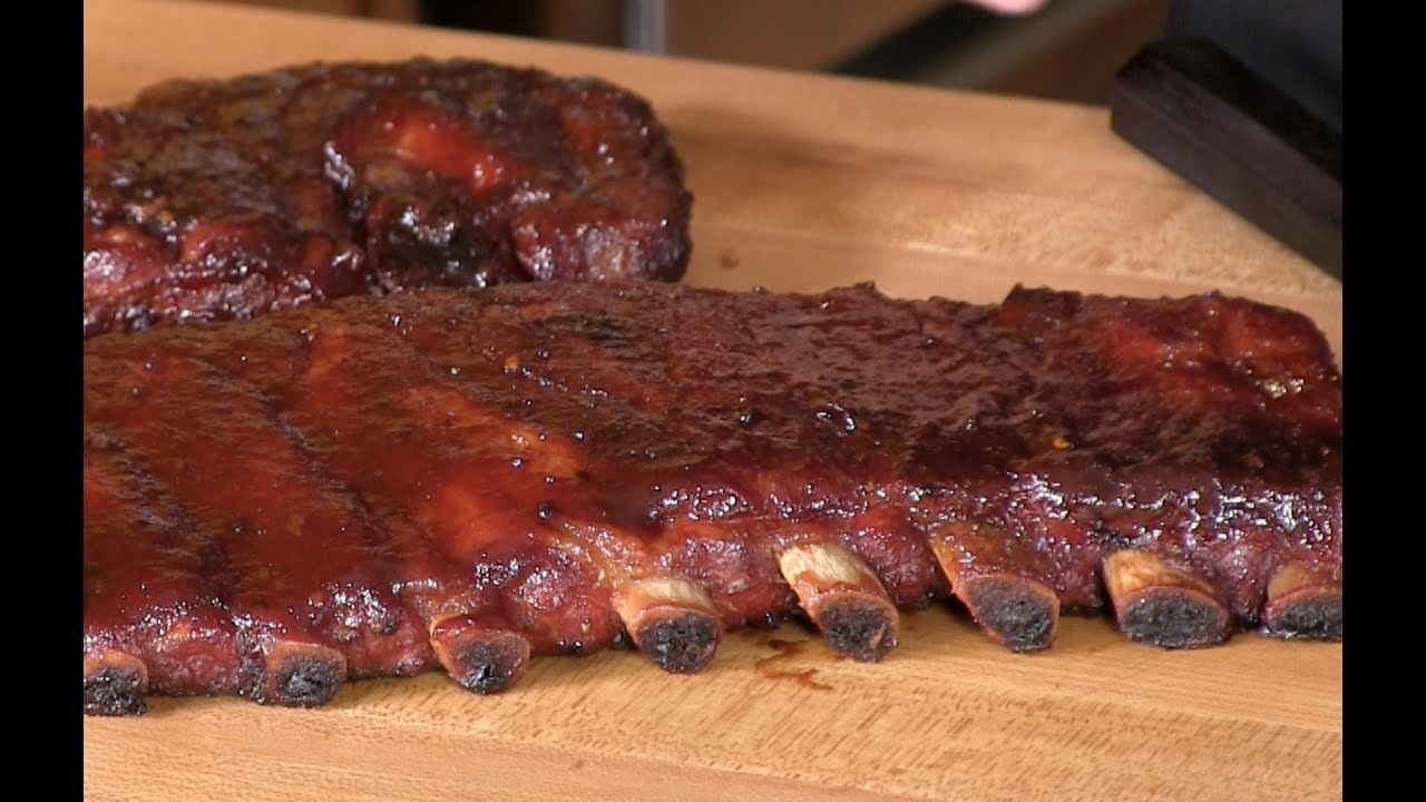brown sugar applewood bbq spare ribs recipe youtube