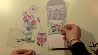 Mini Envelope Flipbook - Tuorial / Process Video / DIY