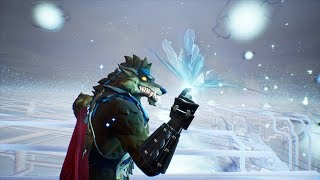 Fortnite Cube Event with Dire Wolf Skin | 11/4/2018