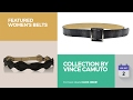 Collection By Vince Camuto Featured Women's Belts