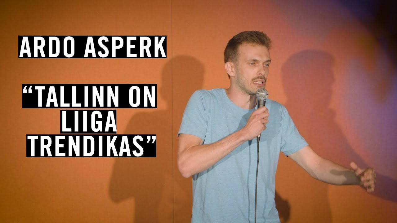 """Ardo Asperk - """"Tallinn on liiga trendikas"""""""