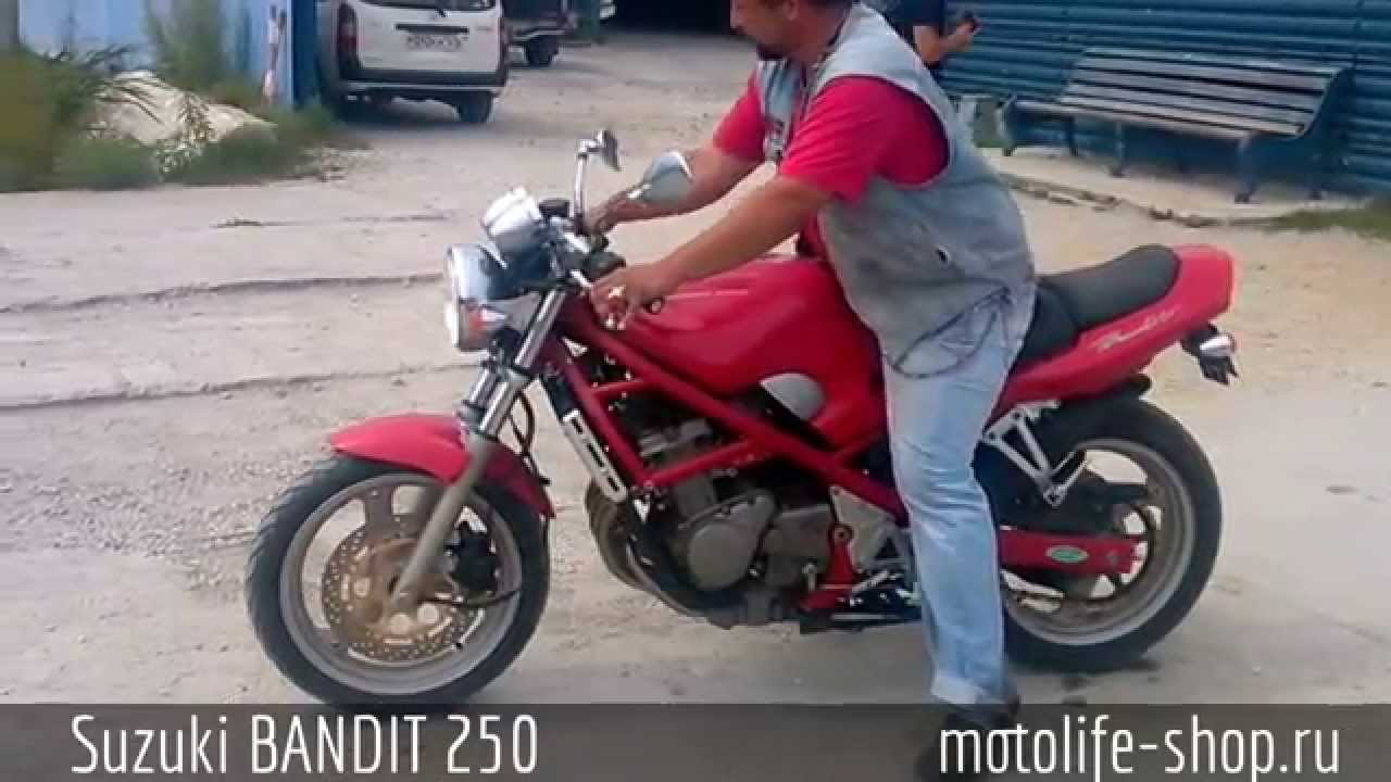 Suzuki BANDIT 250 - YouTube