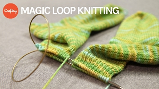 Magic Loop Knitting Basics + Starting Magic Loop Socks | Kate Gilbert