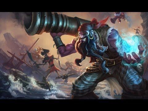 Pirate Ryze Skin Spotlight