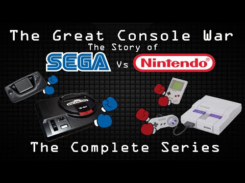The Great Console War: The Story of Sega vs Nintendo (Complete Series)