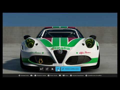 Gran Turismo Sport [LIVERIES]: Alitalia Rally style
