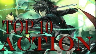 Top 10 Action Animes [HD]