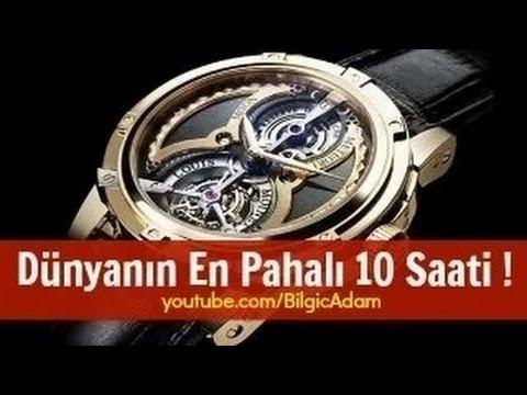 Dünyanın En Pahalı 10 Saati !