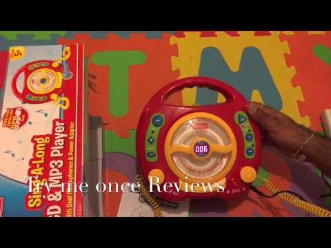 KidzLane Sing along Karaoke machine and MP3 player - Review | Try me Once Reviews